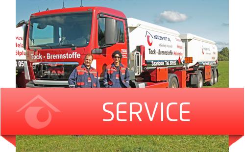 Zufriedener Service